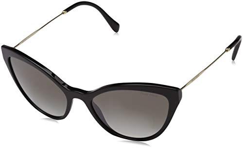 Miu Miu Damen 0MU01SS VA00A7 62 Sonnenbrille, Türkis (Azure/Hazelnut/Grey)