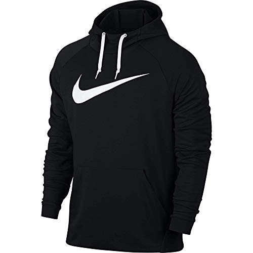 meet b40d5 9936f Nike Dry Pull Over Swoosh Sudadera, Hombre, Negro (Black White),