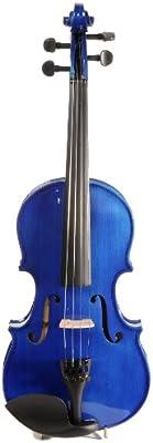ASHTON AV122BBS - Violín (tamaño 1/2, arce), color azul