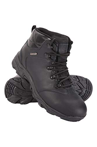 Mountain Warehouse Canyon Mens Waterproof Boots - Breathable Walking Boots, Mesh Lining Hiking Shoes, Eva Midsole, High Traction Outsole - Great for Comfort & Style