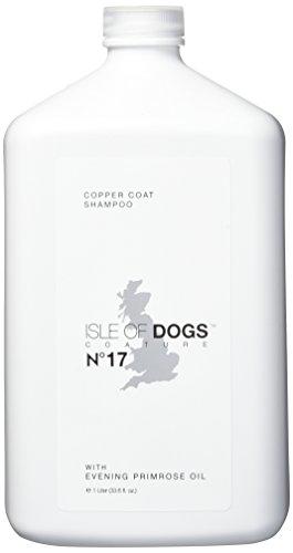 Isle of Dogs coature Nr. 17kupfer Coat Shampoo für Braun Hunde Nachtkerzenöl, 1Liter (Luxus-hundeshampoo)