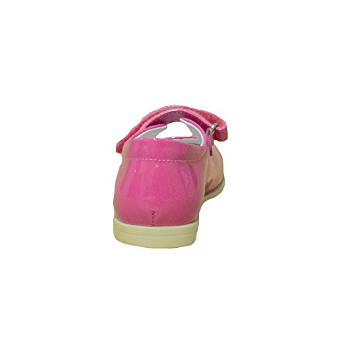 Naturino - Naturino Kinder Ballerinas Pink Poliert Lederklettverschluss 4918 Pink