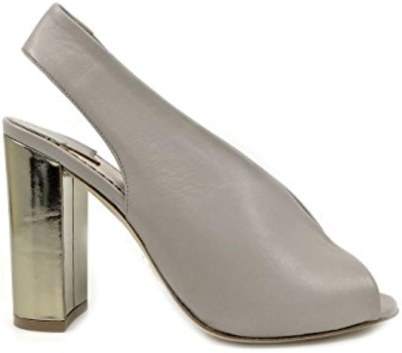 The Seller 7627 Nappa Taupe Taupe Taupe Sandalo Donna Tacco Alto MainApps   Prima i consumatori  fa3044