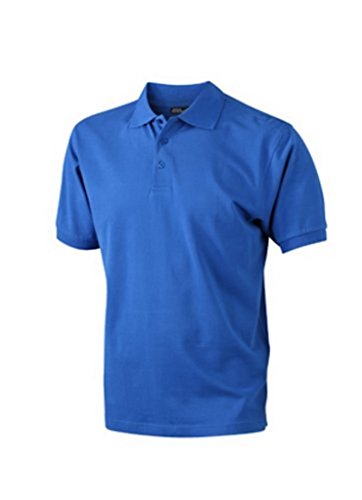 James & Nicholson Herren Poloshirt Blau - Dark Royal