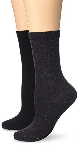 dim-coton-style-brillant-chaussettes-lot-de-2-paires-femme-noir-taille-unique-taille-fabricant-taill
