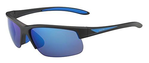 Bollé Sonnenbrille Breaker, Matteack/Blue/Polarized Offshoreue Oleo Ar, 12110