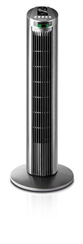 Taurus Alpatec Babel RC Turmventilator mit Fernbedienung, grau