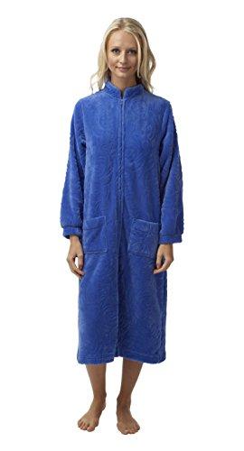 Marlon - Robe de chambre - Femme bleuet