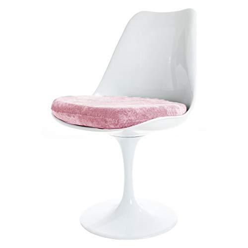 Eero Saarinen Tulipano Nero Bianco E Lussuoso Stile Sedia