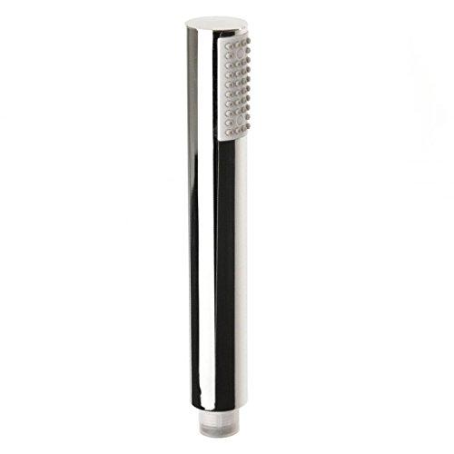 Qualitäts Handbrause Wasser-sparend Stabbrause ABS verchromt rund Stick Duschbrause Brausekopf Duschkopf