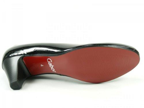 Gabor Shoes 85.200.37 Damen Pumps Schwarz Lack