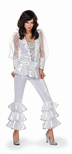 TH-MP 70er Jahre Damen Kostüm 3-teilig Bekleidung Disco -