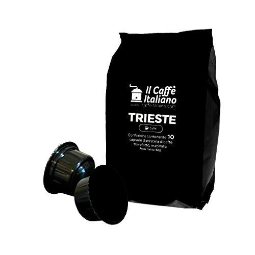 FRHOME - Caffitaly 100 Càpsulas compatibles - Il Caffè Italiano - Mezcla Trieste Intensidad 9