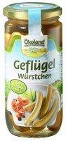 Ökoland Geflügelwürstchen (380 g) - Bio (Bio-putenfleisch)