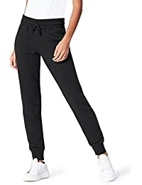 Amazon Brand - find. Women's Tracksuit Bottoms Drawstring Waist Ribbed Ankle