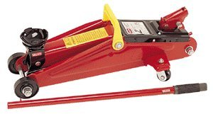 Cric/sollevatore/martinetto idraulico a carrello 2t/2000kg