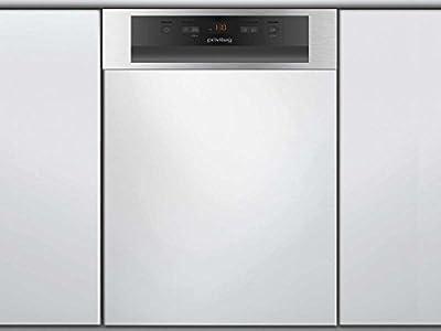 Privileg RSBC 3B19 X Semi-incorporado 10cubiertos A+ lavavajilla - Lavavajillas (Semi-incorporado, Acero inoxidable, Slimline (45 cm), Acero inoxidable, LCD, 1,3 m)