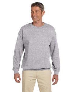 Gildan Heavy Blend Sweatshirt mit Rundhalsausschnitt (XXL, Sport Grey) -
