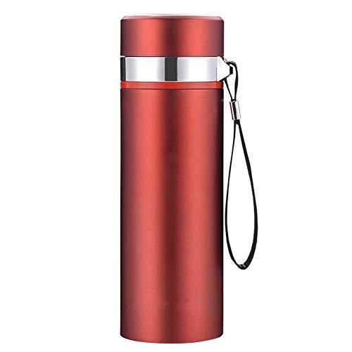GOYAN Tragbare Wasserflasche, Doppelwandige, Isolierte Wasserflasche Aus Edelstahl, 500 Ml Thermosflasche Für Sportflaschen, Leicht Zu Reinigen