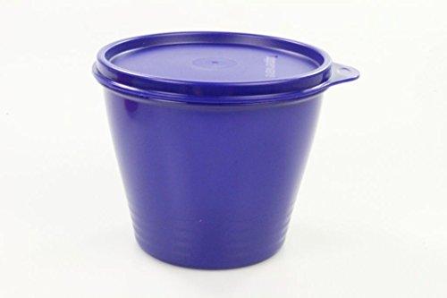 TUPPERWARE Kühlschrank 800 ml dunkelblau Frische-Turm Dose Behälter Frischeturm - Frisch Tupperware Kühlschrank