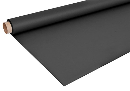 Bresser Fond en papier rouleau (1,35 x 11 m) Noir