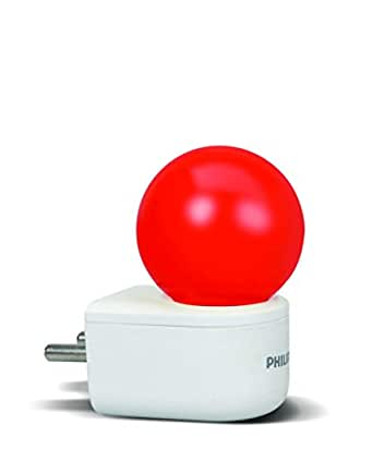 Philips Joy Vision Coral Rush 0.5-Watt LED Bulb (Red and Pack of 1)