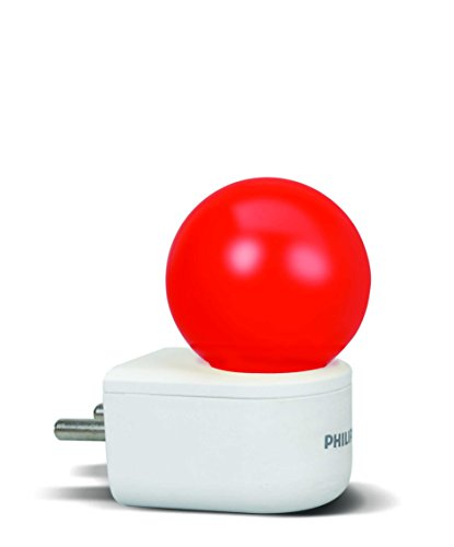 Philips Joy Vision Coral Rush 0.5-Watt LED Bulb (Red and Pack of 1)  available at amazon for Rs.249