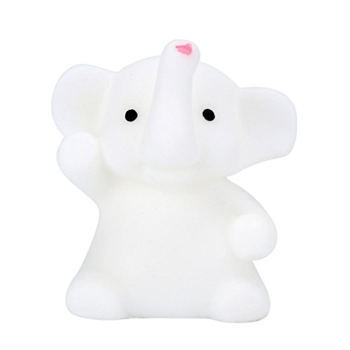 Preisvergleich Produktbild Hansee 4 CM Netter Elefant Mochi Squishy Squeeze Healing Fun Kinder Kawaii Spielzeug Stressabbau Deco
