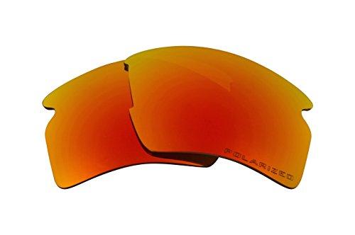 Seek Optics Beste Ersatzgläser for Oakley FLAK 2.0 XL Rot Verspiegelte
