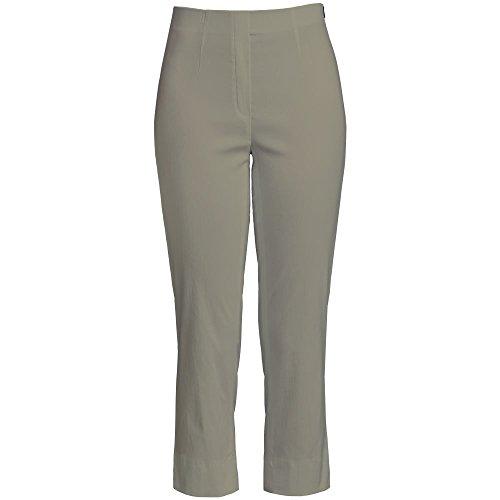 Oliven-capri-hosen (Robell Marie 07 Slim Fit Stretchhose Schlupfhose Damen Capri Hose #Marie 07 (48, Olive(86)))