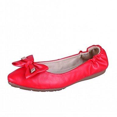 Novità di Appartamenti piatte rosso CN37 5 Wuyulunbi luce Scarpe punta Donna suole per rotonde casual UK4 Bowknot Noi6 Autunno Comfort EU37 5 5 Primavera abbigliamento 7 Beige FfX7zfq