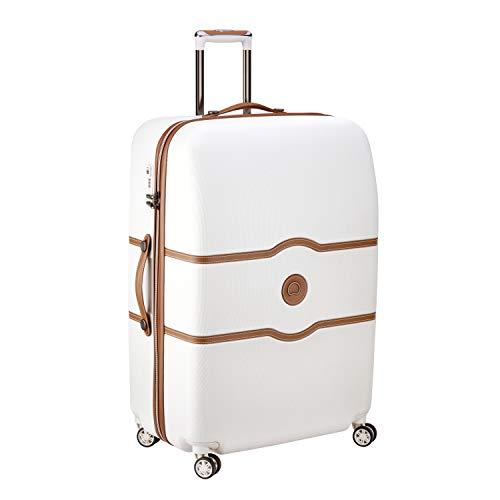 DELSEY PARIS CHATELET AIR Luxus Trolley / Koffer 82cm mit gratis Schuhbeutel und Wäschebeutel 4 Doppelrollen TSA Schloss -