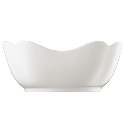 Hutschenreuther 02013-800001-13170 Saladier Rectangulaire 20 cm Porcelaine, Blanc