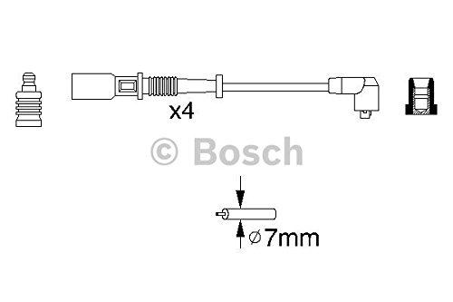 Bosch 0986356754 Kit Cavi d'Accensio