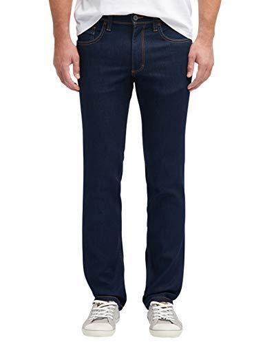 Schwarz Washington Jeans (MUSTANG Herren Slim Fit Washington Jeans)