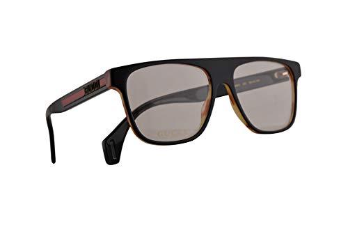 Gucci GG0465O Brillen 55-16-150 Schwarz Mit Demonstrationsgläsern 002 GG 0465O