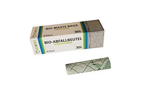 PGV Bio Abfallbeutel 30 Liter KOMPOSTIERBAR (5 Rollen)