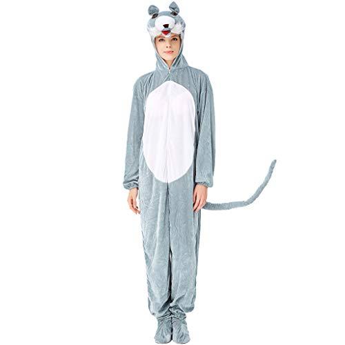 Sloater Halloween Kostüm, Unisex Süßes Pyjamas Kostüm Cosplay Frauen Adult Halloween Kleidung Halloween Kostüm Damen Lustig Süßes süßes Halloween Kostüm Damen Zirkus Große Größen - Süße Vampir Kostüm Frauen