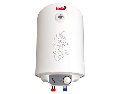 Indo Fresh II Storage Water Geyser(10 L, White)