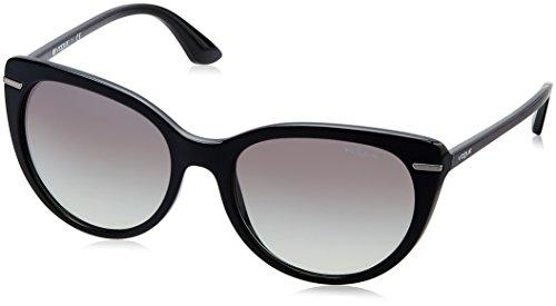 Vogue Eyewear Damen 0vo2941s W44/11 56 Sonnenbrille, Schwarz (Black, One Size (Herstellergröße