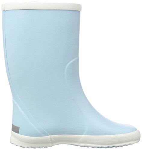 Bergstein Bn Rainbootcl, Bottes en caoutchouc de hauteur moyenne, doublure froide mixte enfant Bleu - Blau (Celeste)