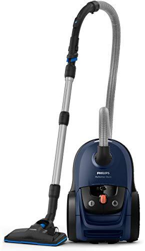 Philips Performer Silent fc8780/09-Aspirateur avec sac, filtre Allergy, 66DB pour un fonctionnement silencieux, Radio de 12m, 650W