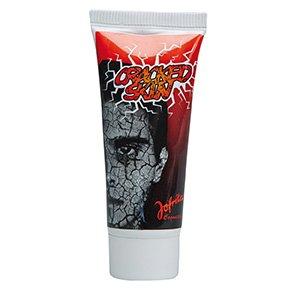 Maquillage Peau Craquelée Blanc Halloween