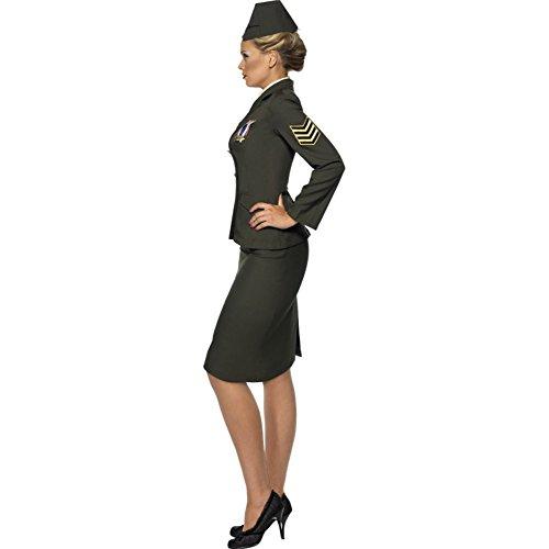 SMIFFY 'S Krieges Offizier - Lady Offizier Kostüm