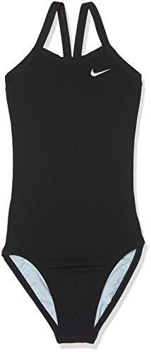 Nike Tfss0082-001 Competition Badeanzug, Mädchen M Schwarz - Badeanzug Nike Damen