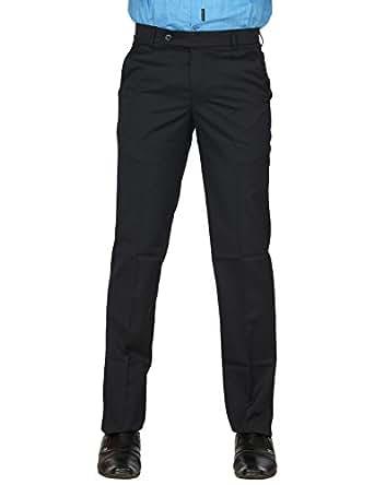 Club Fox Men's Slim Trousers (S14FTR3043_Blue_32)