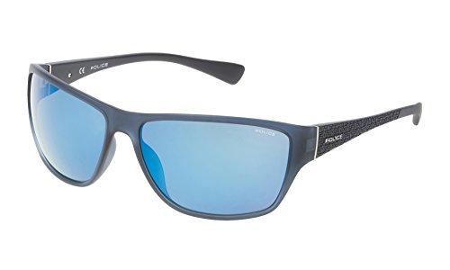 Police Unisex-Erwachsene SPL14463955B Sonnenbrille, Blau (Azul), 63