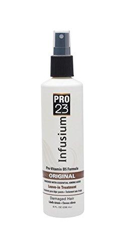 Infusion Pro-23 Soins capillaires - Formule légère originale, enrichie en acide aminés - Démêle et renforce les cheveux - Spray de 236 ml