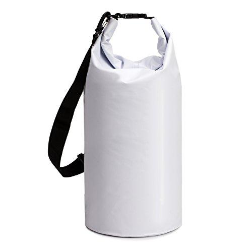 ALLCAMP Dry Bag, 5L/ 10L / 40L wasserdichte Tasche / Trockensack, Dry Tasche und lang Verstellbarer Schultergurt, Für Ruder- und Paddeltouren / Rafting Angeln / ideal zum Speichern von Mobiltelefonen/ Schuhe Super Wasserdicht