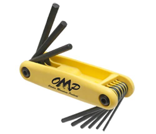 OMP Pro-Shop Hex Wrench Set 5/16-1/4